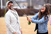 LINED UP TO CAST<br />