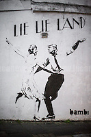 "28.02.2017 - Bambi ""Lie Lie Land"" - Artwork in Islington, London"