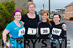 Maria Moynihan Tralee, Tina Curtin Knocknagoshel, Breda Wyles Castlegregory and Lucy Fitzell Tralee at the Kingdom 10 mile road race in Castleisland on Sunday