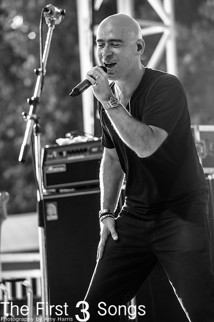 Edward Kowalczyk performs at the 2nd Annual BottleRock Napa Festival at Napa Valley Expo in Napa, California.