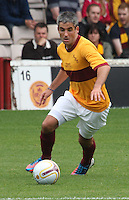 Keith Lasley in the Motherwell v Everton friendly match at Fir Park, Motherwell on 21.7.12 for Steven Hammell's Testimonial.