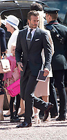 19 April 2017 - London, England - David Beckham. Investitures at Buckingham Palace. Photo Credit: Alpha Press/AdMedia