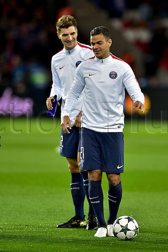 19.10.2016. Paris, France. UEFA Champions league football, group stages. Paris Saint Germain versus FC Basel.