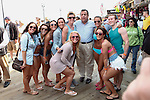 NEWS-Governor Chris Christie visits the Jersey Shore before the beginning of Summer season