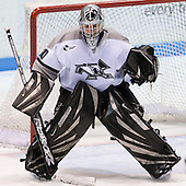 Ryan Simpson (Providence 30) - The Boston College Eagles and Providence Friars played to a 2-2 tie on Saturday, March 1, 2008 at Schneider Arena in Providence, Rhode Island. Simpson, sophomore goaltender for Providence, is a free agent.