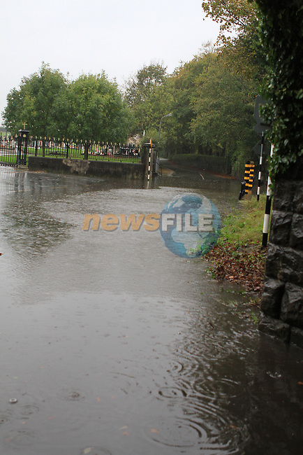 Flooding at Calvary Cemetery ..(Photo credit should read Jenny Matthews www.newsfile.ie)....This Picture has been sent you under the conditions enclosed by:.Newsfile Ltd..The Studio,.Millmount Abbey,.Drogheda,.Co Meath..Ireland..Tel: +353(0)41-9871240.Fax: +353(0)41-9871260.GSM: +353(0)86-2500958.email: pictures@newsfile.ie.www.newsfile.ie.