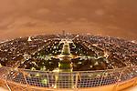 Paris, France. 1er Novembre 2010..Vue de Paris depuis la Tour Eiffel..Paris, France, November 1st 2010..Paris view from the Eiffel Tower.