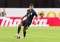 Glendale, AZ - Saturday June 25, 2016: DeAndre Yedlin during a Copa America Centenario third place match match between United States (USA) and Colombia (COL) at University of Phoenix Stadium.