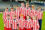 The Scoil Mhaol Éadar, Dingle team that competed in the Cumann na mbunscoil mini sevens finals in Fitzgerald Stadium on Thursday front row l-r: Fergal Mac Eoin, Rónán ó Baglaoich, Dáithí Baocaeíi, Anton O'Sé, Tadhg ó Beaglaoich. Back row: Oisin o Dubhagáin, Cual O Muircheartaigh, Eoghan MacGearailt, Aodhán Ó Dubháin and Colm ó hEartáin
