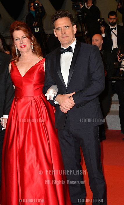 Matt Dillon &amp; Siobhan Fallon Hogan at the gala screening for &quot;The House That Jack Built&quot; at the 71st Festival de Cannes, Cannes, France 14 May 2018<br /> Picture: Paul Smith/Featureflash/SilverHub 0208 004 5359 sales@silverhubmedia.com