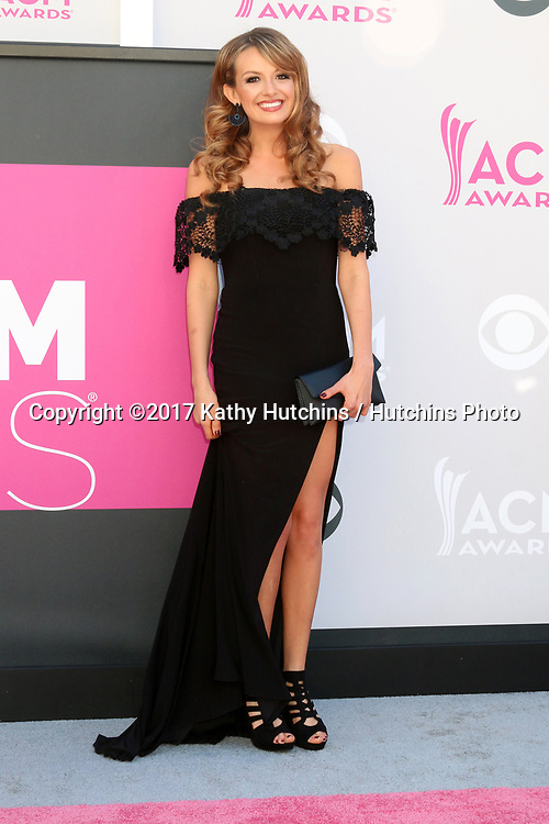 LAS VEGAS - APR 2:  Carly Pearce at the Academy of Country Music Awards 2017 at T-Mobile Arena on April 2, 2017 in Las Vegas, NV