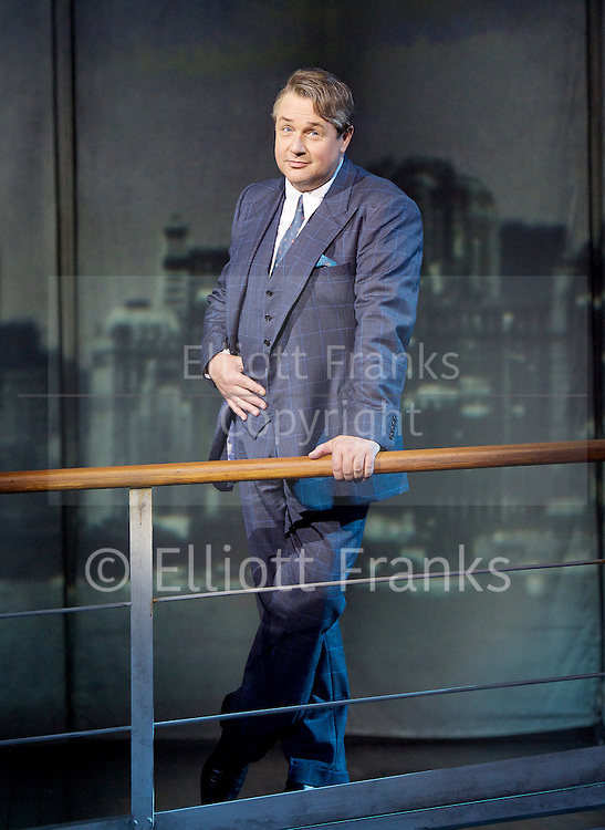 Mack and mabel <br /> Music and Lyrics by JERRY HERMAN Book by MICHAEL STEWART<br /> at the Festival Theatre, Chichester, Great Britain <br /> Press photocall <br /> 20th July 2015 <br /> <br /> <br /> Michael Ball as Mack Sennett<br /> <br /> <br /> <br /> Book revised by FRANCINE PASCAL<br /> <br /> <br /> Photograph by Elliott Franks <br /> Image licensed to Elliott Franks Photography Services