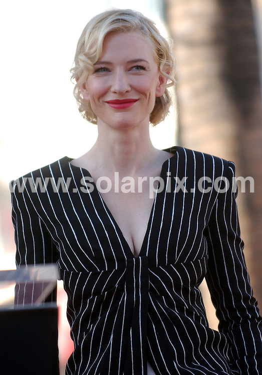 **ALL ROUND PICTURES FROM SOLARPIX.COM**.**SYNDICATION RIGHTS FOR UK, SPAIN, PORTUGAL, AUSTRALIA, S.AFRICA & DUBAI (U.A.E) ONLY**.Cate Blanchett Honored With A Star On The Hollywood Walk Of Fame. Los Angeles, California, USA. 5th December 2008..JOB REF: 8108 PHZ (Ortega)    DATE: 05_12_2008.**MUST CREDIT SOLARPIX.COM OR DOUBLE FEE WILL BE CHARGED* *UNDER NO CIRCUMSTANCES IS THIS IMAGE TO BE REPRODUCED FOR ANY ONLINE EDITION WITHOUT PRIOR PERMISSION*