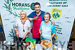 Caroline Rogers, Chef Oliver McCabe and Carmel Ouilter O'Neill enjoying a cooking demonstration at the Horans Health Store's Health and Wellbeing Expo in the Manor West Hotel on Saturday.