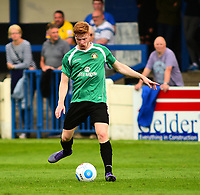 Gainsborough Trinity's Alex Wiles<br /> <br /> Photographer Andrew Vaughan/CameraSport<br /> <br /> Pre-Season Friendly - Gainsborough Trinity v Lincoln City - Saturday 15th July 2017 - The Gainsborough Martin &amp; Co Arena - Gainsborough<br /> <br /> World Copyright &copy; 2017 CameraSport. All rights reserved. 43 Linden Ave. Countesthorpe. Leicester. England. LE8 5PG - Tel: +44 (0) 116 277 4147 - admin@camerasport.com - www.camerasport.com
