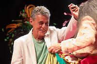 SÃO PAULO - SP. 15.02.2017 - SHOW-SP.  Chico Buarque  e Maria Bethânia durante Show de Verão da Mangueira, nesta quarta-feira, 15, no Tom Brasil, zona sul de São Paulo. (Foto: Ciça Neder / Brazil Photo Press)