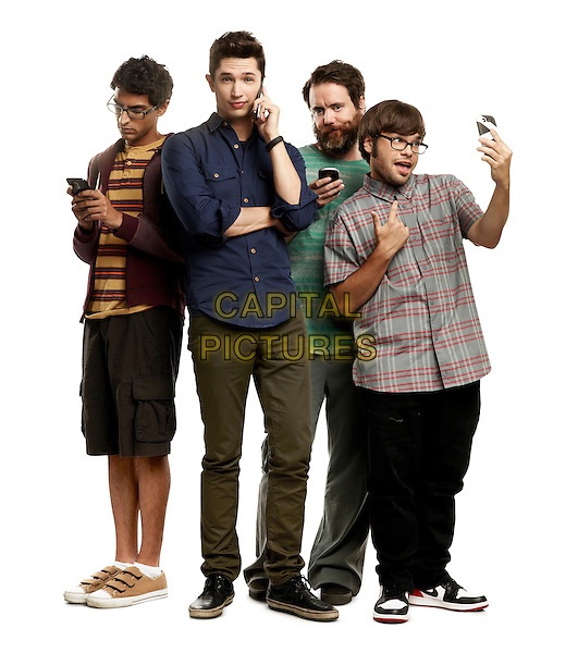 KARAN SONI, JOE DINICOL, JON DALY, CHARLIE SAXTON<br /> in Betas (2013)<br /> *Filmstill - Editorial Use Only*<br /> CAP/FB<br /> Image supplied by Capital Pictures