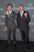 New York, NY - June 10 : Jean-Pascal Perret and Gregory Swift attend the OMEGA Speedmaster Dark Side<br /> of the Moon Launch Event held at Cedar Lake on June 10, 2014 in<br /> New York City. Photo by Brent N. Clarke / Starlitepics