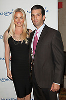 ***Vanessa Trump, the wife of Donald Trump Jr., was taken to a hospital on Monday after complaining of nausea when she was exposed to an unidentified white powder that came in the mail***<br /> FILE PHOTO: NEW YORK, NY - JUNE 13: Vanessa Trump and Donald Trump Jr attend 'An Evening of Wishes', Make-A-Wish Metro New York's 30th Anniversary Gala at Cipriani, Wall Street on June 13, 2013 in New York City.<br /> CAP/MPI99<br /> &copy;MPI99/Capital Pictures