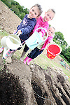 Rachel and Emily Stafford with Gemma Graham at the new Allotments at Newtown Cross..Photo NEWSFILE/Jenny Matthews.(Photo credit should read Jenny Matthews/NEWSFILE)....This Picture has been sent you under the condtions enclosed by:.Newsfile Ltd..The Studio,.Millmount Abbey,.Drogheda,.Co Meath..Ireland..Tel: +353(0)41-9871240.Fax: +353(0)41-9871260.GSM: +353(0)86-2500958.email: pictures@newsfile.ie.www.newsfile.ie.FTP: 193.120.102.198.