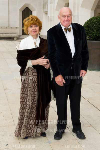 Prunella Scales arriving for the 2012 UK Theatre Awards, The Guildhall London. 28/10/2012. Picture by: Simon Burchell / Featureflash