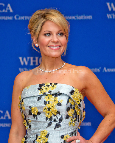 Actress Candace Cameron-Bure arrives for the 2016 White House Correspondents Association Annual Dinner at the Washington Hilton Hotel on Saturday, April 30, 2016.<br /> Credit: Ron Sachs / CNP<br /> (RESTRICTION: NO New York or New Jersey Newspapers or newspapers within a 75 mile radius of New York City)/MediaPunch
