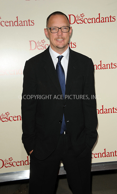 WWW.ACEPIXS.COM . . . . .  ....November 15 2011, LA....Matthew Lillard arriving at the premiere of 'The Descendants' at AMPAS Samuel Goldwyn Theater on November 15, 2011 in Beverly Hills, California.....Please byline: PETER WEST - ACE PICTURES.... *** ***..Ace Pictures, Inc:  ..Philip Vaughan (212) 243-8787 or (646) 679 0430..e-mail: info@acepixs.com..web: http://www.acepixs.com
