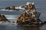 USA, California, Monterey, rocky seashore