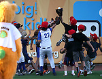 Images from the Triple-A All Star Home Run Derby in Reno, Nev., on Monday, July 15, 2013. <br /> Photo by Cathleen Allison
