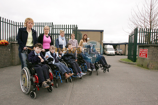 Parents fear if special class is to close in Marymount School.Photo NEWSFILE/FRAN CAFFREY..(Photo credit should read FRAN CAFFREY/NEWSFILE)...This Picture has been sent you under the condtions enclosed by:.Newsfile Ltd..the Studio,.Millmount Abbey,.Drogheda,.Co Meath..Ireland..Tel: +353(0)41-9871240.Fax: +353(0)41-9871260.GSM: +353(0)86-2500958.email: pictures@newsfile.ie.www.newsfile.ie.FTP: 193.120.102.198..This picture is from Fran Caffrey@newsfile.ie
