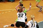 v. li. im Zweikampf &nbsp;Lina Krglikar (Vulkan-Ladies Koblenz/Weibern) und Seline Ineichen (Frisch Auf Goeppingen Frauen) mit Ball<br />  im Spiel TPSG FA Goeppingen - VL Koblenz / Weibern.<br /> <br /> Foto &copy; P-I-X.org *** Foto ist honorarpflichtig! *** Auf Anfrage in hoeherer Qualitaet/Aufloesung. Belegexemplar erbeten. Veroeffentlichung ausschliesslich fuer journalistisch-publizistische Zwecke. For editorial use only.