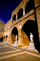 Palace of the Grand Masters, Old Town, Rhodes Town, Rhodes, Dodecanese, Greece