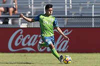 LAKEWOOD RANCH, FL - December 2, 2017: Philadelphia Union vs. Seattle Sounders FC. The 2017 Development Academy Winter Showcase at Premier Sports Campus.