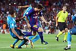 Supercopa de Espa&ntilde;a - Ida.<br /> FC Barcelona vs R. Madrid: 1-3.<br /> Varane, Lionel Messi &amp; Casemiro.