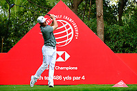 Alex Noren (SWE) on the 9th tee during the 2nd round at the WGC HSBC Champions 2018, Sheshan Golf CLub, Shanghai, China. 26/10/2018.<br /> Picture Fran Caffrey / Golffile.ie<br /> <br /> All photo usage must carry mandatory copyright credit (&copy; Golffile | Fran Caffrey)
