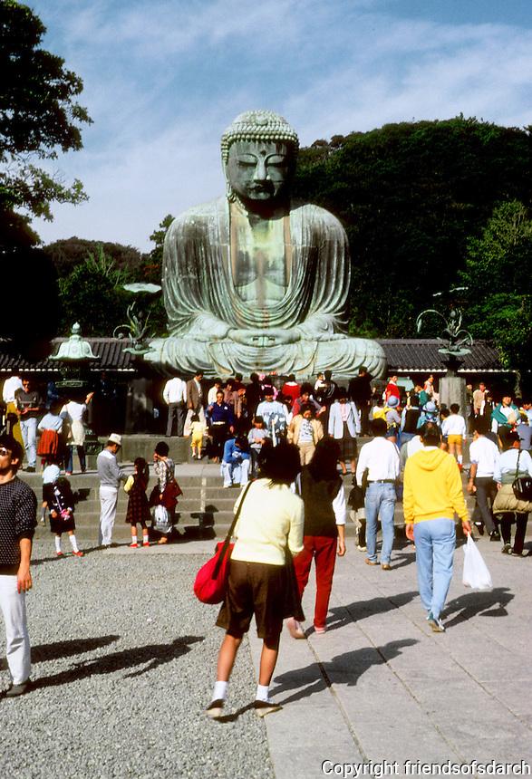 Kamakura: Great Bronze Buddha. Photo '81.