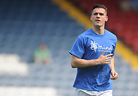 Blackburn Rovers' Darragh Lenihan during the pre-match warm-up <br /> <br /> Photographer Kevin Barnes/CameraSport<br /> <br /> The EFL Sky Bet Championship - Blackburn Rovers v Bolton Wanderers - Monday 22nd April 2019 - Ewood Park - Blackburn<br /> <br /> World Copyright © 2019 CameraSport. All rights reserved. 43 Linden Ave. Countesthorpe. Leicester. England. LE8 5PG - Tel: +44 (0) 116 277 4147 - admin@camerasport.com - www.camerasport.com