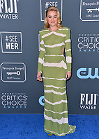 SANTA MONICA, USA. January 12, 2020: AJ Michalka at the 25th Annual Critics' Choice Awards at the Barker Hangar, Santa Monica.<br /> Picture: Paul Smith/Featureflash