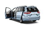 Car images of 2017 Toyota Sienna Limited 5 Door Minivan Doors