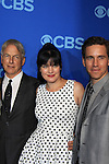 NCIS Cast - Mark Harmon - Pauley Perrette - Brian Dietzen at the CBS Upfront on May 15, 2013 at Lincoln Center, New York City, New York. (Photo by Sue Coflin/Max Photos)