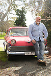 SA Home and Life mag,   My Place with Paul Rees, Museum Director, of National Motor Museum & SA Maritime Museum, at his home in Littlehampton . Photo : Nick Clayton.
