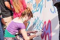 Taking Back the Streets - to celebrate the power of street art to convey a positive message reminding kids and teens that choosing to drink water is one of the best, easiest and coolest decisions they can make each and every day.