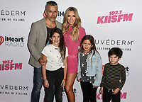Teddi Mellencamp and Family iHeartRadio KIIS FM Wango Tango at the Dignity Health Sports Park.