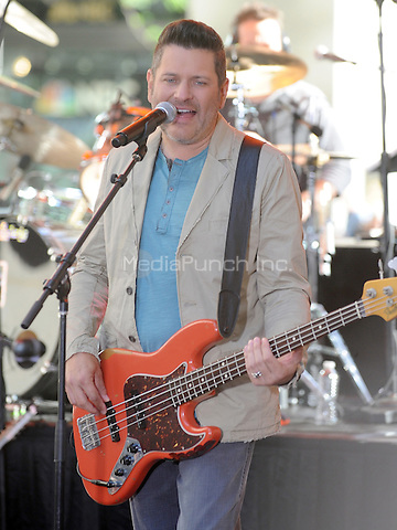 New York,NY-May 30: Jay DeMarcus attends the Rascal Flatts concert on The Today Show  in New York City on May 30, 2014. Credit: John Palmer/MediaPunch
