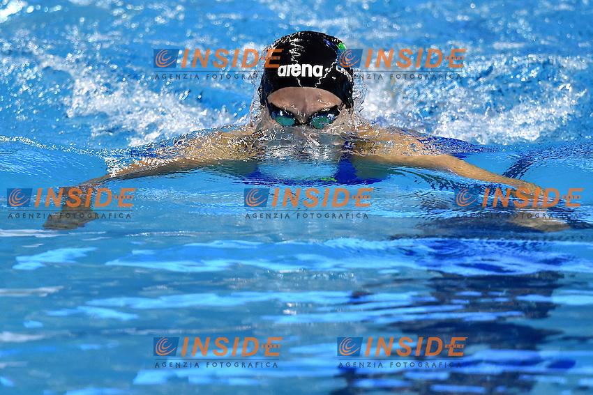 CASTIGLIONI Arianna ITA Women's 100m Breaststroke <br /> Doha Qatar 05-12-2014 Hamad Aquatic Centre, 12th FINA World Swimming Championships (25m). Nuoto Campionati mondiali di nuoto in vasca corta.<br /> Photo Andrea Staccioli/Deepbluemedia/Insidefoto