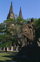 Peter und Paul-Kirche, Vysehrad, Prag, Tschechien, Unesco-Weltkulturerbe