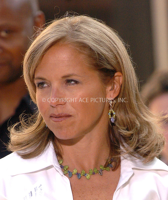 Katie Couric interviewing Annie Lennox on 'Today Show.' New York, July 2, 2004. Please byline: AJ SOKALNER/ACE Pictures.   .. *** ***..All Celebrity Entertainment, Inc:  ..contact: Alecsey Boldeskul (646) 267-6913 ..Philip Vaughan (646) 769-0430..e-mail: info@nyphotopress.com