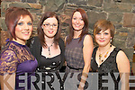 Pictured at the Style House Christmas night out in Beaufort Bar on Saturday night were Lisa Foley, Niamh Curran, Evelyn Twiss and Lisa Maher.   Copyright Kerry's Eye 2008