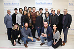 "The cast and creative team during the meet the cast photo call for the Paper Mill Playhouse production of  ""Benny & Joon"" at Baza Dance Studios on 3/21/2019 in New York City."