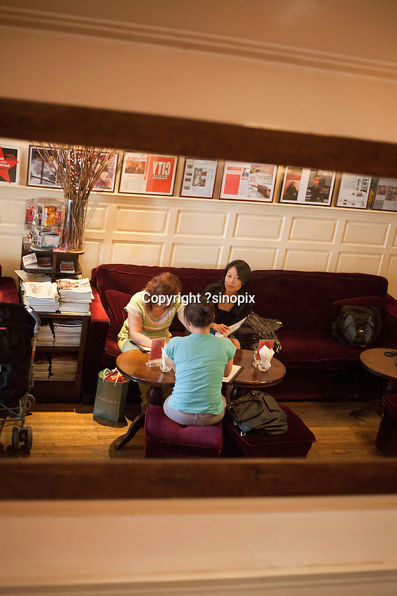 Citizen Cafe on Jianxian Road. Series of images looking at 'Trendy Shanghai' By Jonathan Browning.